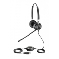 Гарнитура Jabra GN BIZ 2400 Duo Wideband Stereo (2499-829-104)